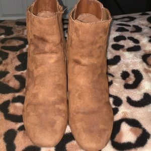 Forever 21 Shoes - Forever 21 Brown Suede boots 🌻